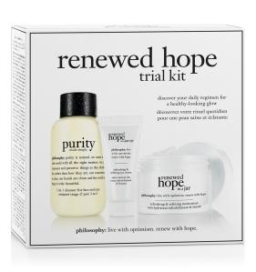 philosophy renewed hope trial kit (1)
