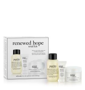 philosophy renewed hope trial kit 2