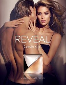 Reveal Calvin Klein  advertising