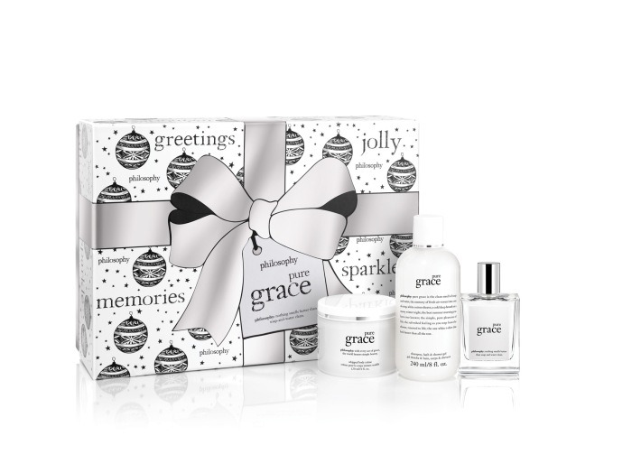 philosophy holiday collection 2015 pure grace set