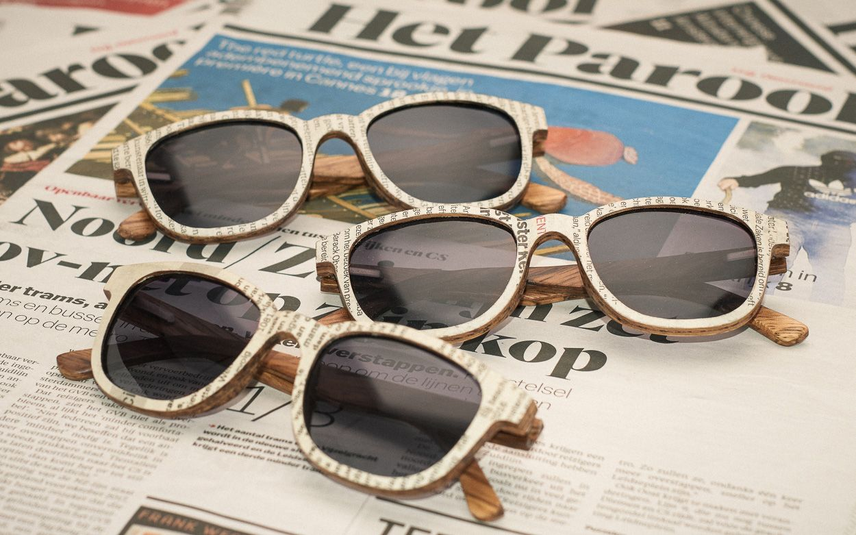 Kranten zonnebril - 1