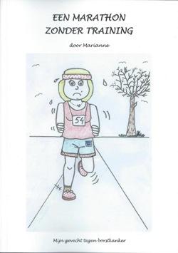 Cover Een marathon zonder training -  Marianne
